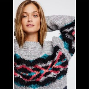 Free People Heart You Sweater